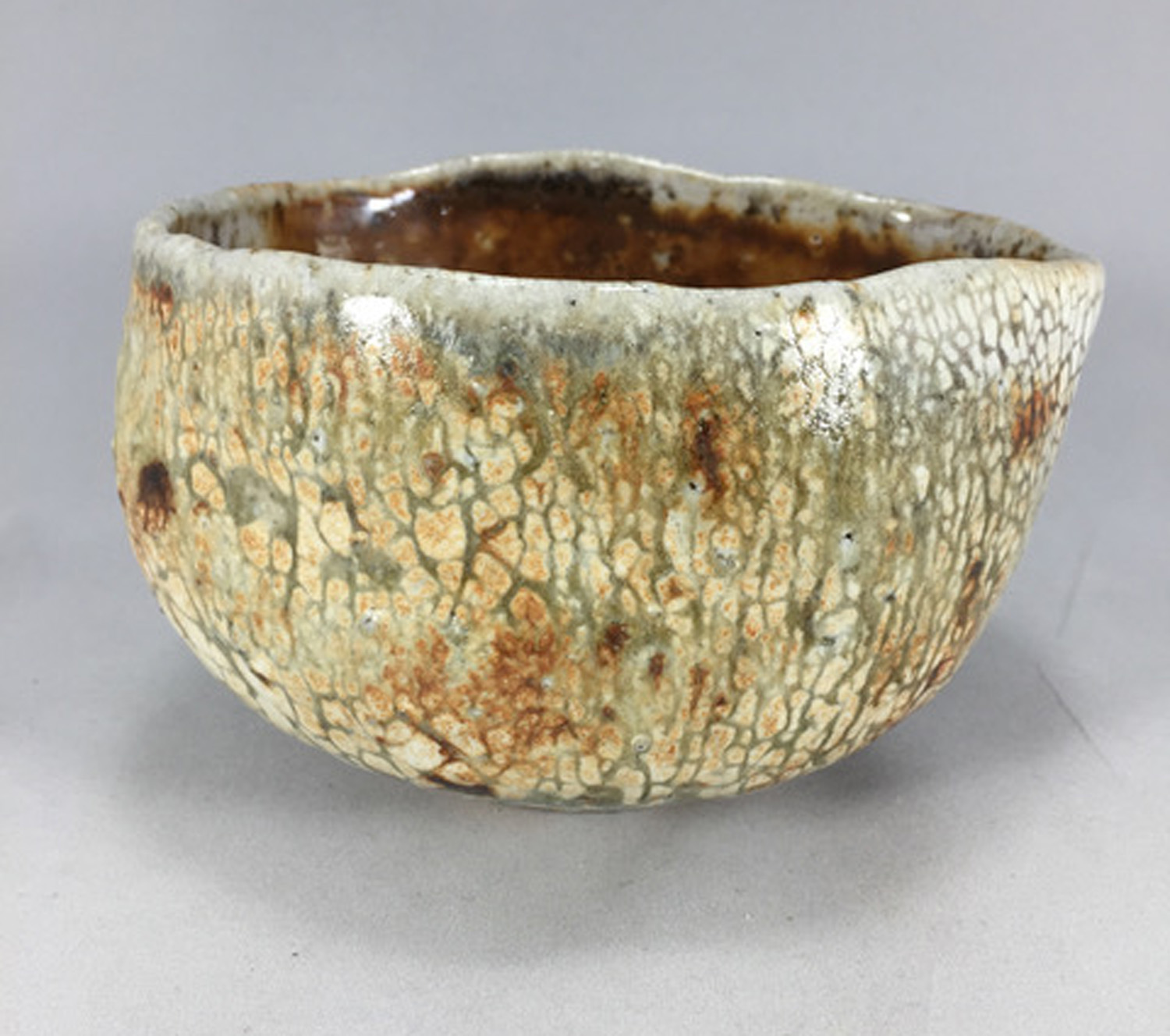 Snake Skin Tea Bowl - Mark Tyson