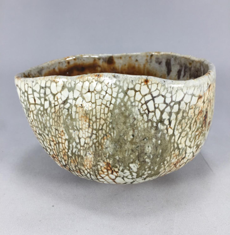 Snake Skin Tea Bowl - Mark Tyson