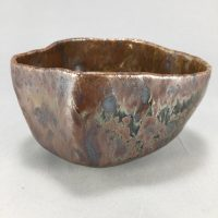 Tenmoku Oil Spot Tea Bowl - Mark Tyson